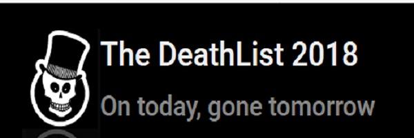 ΥΠΑΡΧΕΙ ΚΙ ΑΥΤΟ! Η «λίστα του θανάτου» για το 2018
