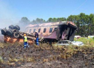 ΝΟΤΙΑ ΑΦΡΙΚΗ: Τουλάχιστον 14 νεκροί σε σιδηροδρομικό δυστύχημα
