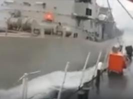 Η στιγμή που ο Νικηφόρος «διεμβολίζει» το τουρκικό σκάφος