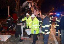 ΤΟΥΡΚΙΑ: Έντεκα νεκροί και 46 τραυματίες σε δυστύχημα με λεωφορείο