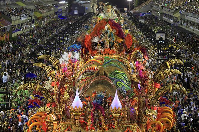 ΒΡΑΖΙΛΙΑ: Το καρναβάλι του Ρίο, το διασημότερο καρναβάλι του κόσμου σε... αριθμούς
