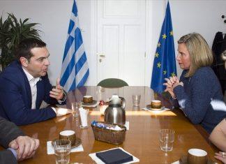 """Συνάντηση Τσίπρα - Μογκερίνι με """"μενού"""" Τουρκία και Δυτικά Βαλκάνια"""