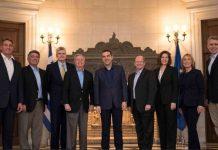 Τουρκία και Σκοπιάνο στη συνάντηση Τσίπρα και Γερουσιαστών των ΗΠΑ