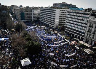 Κυριακάτικο συλλαλητήριο: Ξεσηκωμός στη Μακεδονία και ραντεβού στο Σύνταγμα