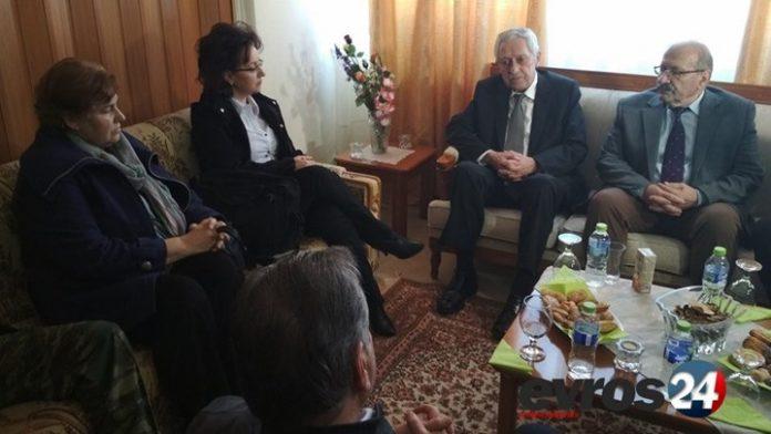 Ο Κουβέλης συναντήθηκε με τους γονείς των δύο Ελλήνων στρατιωτικών