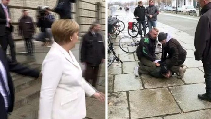 Γερμανία - Απετράπη επίθεση κατά της Μέρκελ
