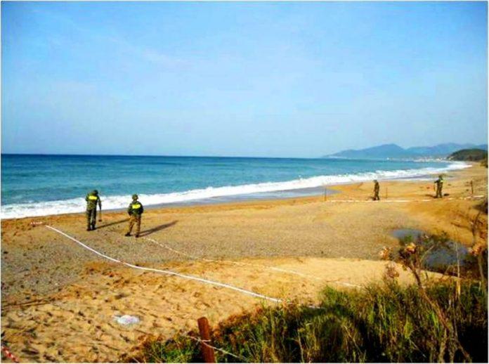 Καβάλα: Εντοπίστηκαν αντιαρματικές νάρκες σε θαλάσσιο κόλπο