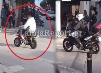Λαμία: Παραδόθηκε ο οδηγός του «μπόμπου» που έκανε άνω κάτω την πόλη