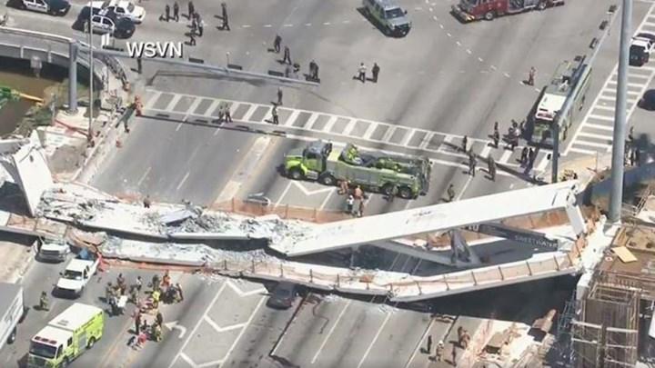 ΜΑΪΑΜΙΑ: Κατέρρευσε πεζογέφυρα - Νεκροί και τραυματίες