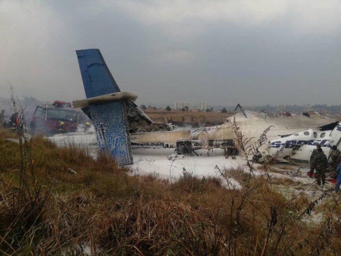 ΝΕΠΑΛ: Τουλάχιστον 50 νεκροί από συντριβή αεροπλάνου