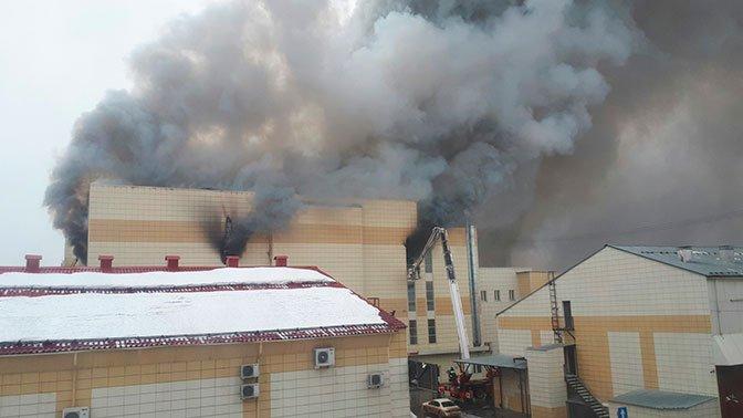 ΡΩΣΙΑ: Πυρκαγιά σε εμπορικό κέντρο με τουλάχιστον 37 νεκρούς