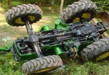 Τραγικό τέλος για 61χρονο αγρότη - Τον καταπλάκωσε το τρακτέρ που οδηγούσε