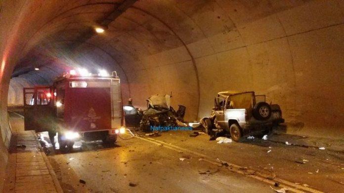 Ναύπακτο: Τραγωδία σε σήραγγα - Ένας νεκρός και τρεις τραυματίες