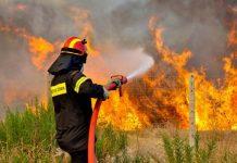 Χανιά: Νέα μεγάλη φωτιά - Απειλούνται σπίτια