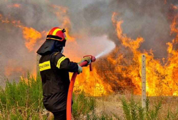 Κεφαλονιά: Εκκενώνεται σχολείο λόγω πυρκαγιάς στο χωριό Πάστρα