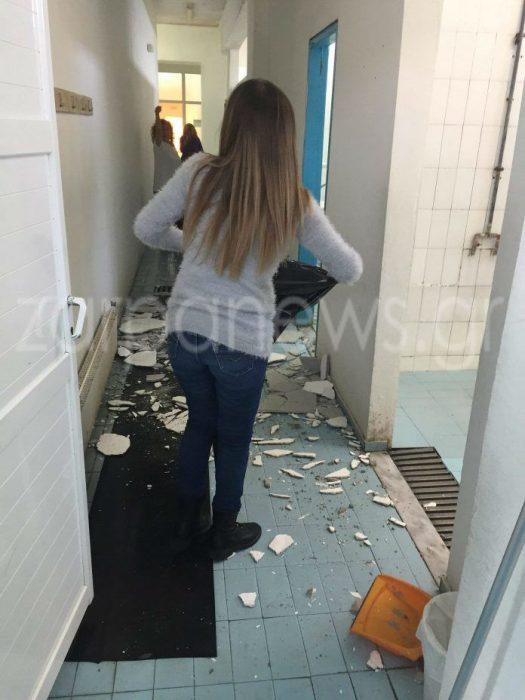 Χανιά: Κατέρρευσε τμήμα οροφής σε κολυμβητήριο ενώ ήταν γεμάτο παιδιά