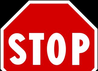 Η λέξη «stop» προέρχεται ως αντιδάνειο από τα αρχαία ελληνικά