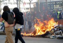 ΠΑΡΙΣΙ: Βίαιες συγκρούσεις στη διαδήλωση των συνδικάτων