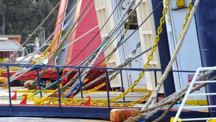 Κανονικά εκτελούνται τα δρομολόγια των πλοίων