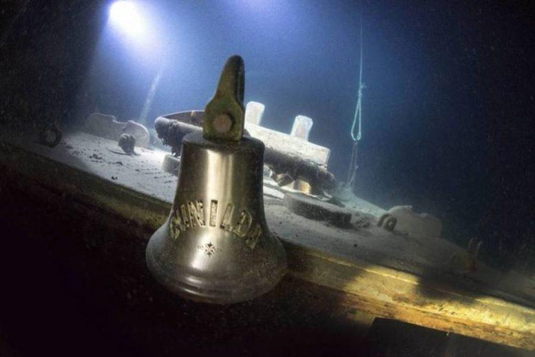 Βυθισμένο πλοίο διατηρείται σε άριστη κατάσταση!