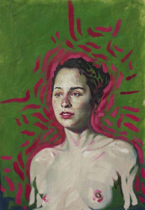 """ΑΔΡΙΑΝΟΣ - Ατομική έκθεση ζωγραφικής στη Galerie """"f"""""""