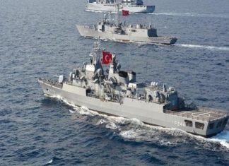 Τουρκία: Δημιουργεί «πολεμικό» κλίμα στην ΑΟΖ - Έστειλε 10 πλοία για τον «Πορθητή»
