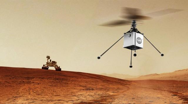 Η NASA στέλνει αυτόνομο ελικόπτερο στον Άρη