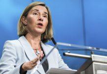 Μογκερίνι: Η Ε.Ε. «στηρίζει τις εν εξελίξει διαπραγματεύσεις»