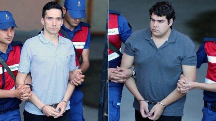 Απόψε επιστρέφουν στην πατρίδα οι δύο Έλληνες στρατιωτικοί