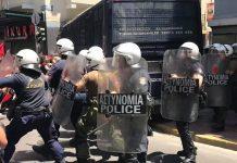 Έκτακτο: Νέα επίθεση με μολότοφ στο κτήριο των ΜΑΤ στην Καισαριανή