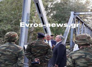 Στα ελληνοτουρκικά σύνορα ο Κώστας Καραμανλής