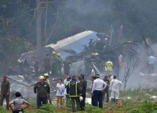 ΚΟΥΒΑ: 3 επιζώντες στα συντρίμμια του Boeing