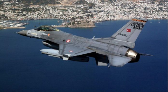 Έκτακτο: Τουρκικό μαχητικό πέταξε πάνω από ελληνικό έδαφος