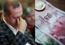"""Ο Ερντογάν καλεί τους Τούρκους """"Κάντε τα ευρώ σας τουρκικές λίρες"""""""