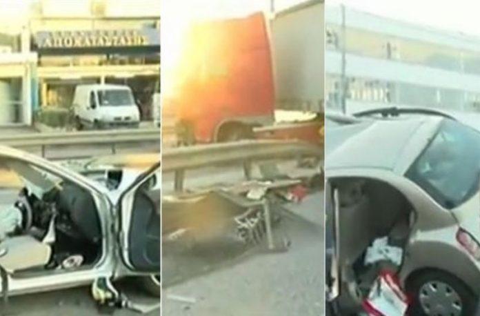 Κακουργηματικές διώξεις στον οδηγό της νταλίκας για το δυστύχημα στον Κηφισό