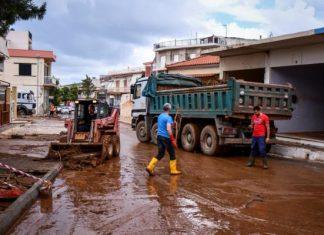 Μάνδρα & Μαγούλα: Πλημμύρισαν ενενήντα σπίτια
