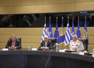 """Παυλόπουλος: Δεν υπάρχουν """"γκρίζες ζώνες"""" στο Αιγαίο"""