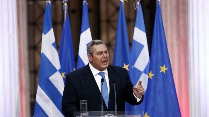 Καμμένος: Όσο δεν έρχεται το Σκοπιανό στη Βουλή, μην περιμένετε εκλογές