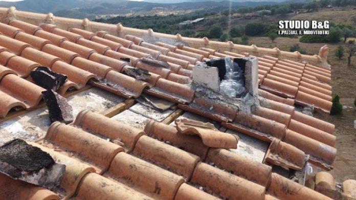 Αργολίδα: Κεραυνός χτύπησε το σπίτι ενώ βρίσκονταν μέσα παιδιά