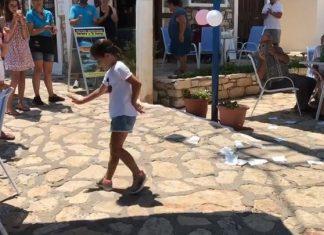Καστελόριζο: Κοριτσάκι χορεύει ζεϊμπέκικο και γίνεται viral