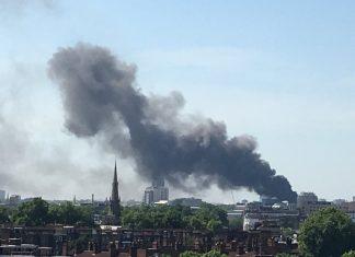 ΛΟΝΔΙΝΟ: Μεγάλη φωτιά σε ξενοδοχείο στο Hyde Park