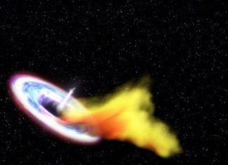 Δέος: Τεράστια μαύρη τρύπα «καταπίνει» άστρο