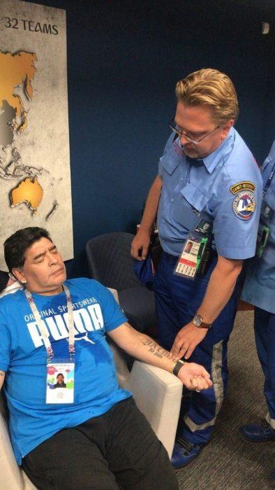 Στο νοσοκομείο ο Ντιέγκο Μαραντόνα