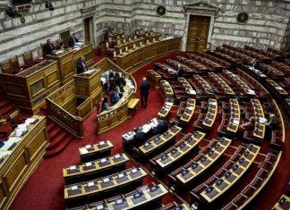 Βουλή - προϋπολογισμός: Κόντρα Βρούτση - Ραγκούση