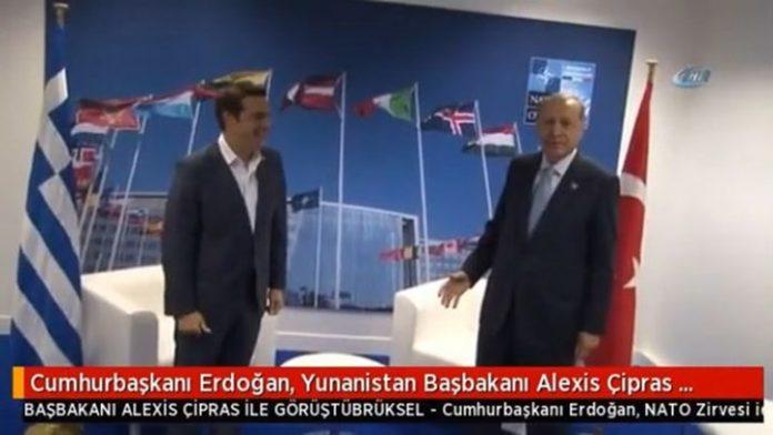 Τι ειπώθηκε για τους Έλληνες στρατιωτικούς, στη συνάντηση Τσίπρα - Ερντογάν