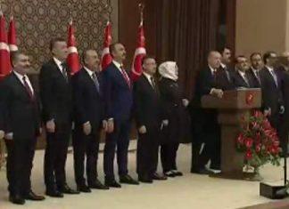 ΤΟΥΡΚΙΑ: Ο Ερντογάν παρουσίασε το νέο Υπουργικό Συμβούλιο