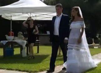 Εικόνες από τον γάμο των Σρόιτερ – Μπούκη
