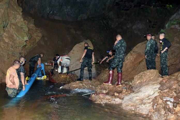 ΤΑΪΛΑΝΔΗ: Απεγκλωβίστηκε το ένατο παιδί από το σπήλαιο