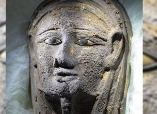 ΑΙΓΥΠΤΟΣ: Αρχαιοελληνικής τεχνοτροπίας η επιχρυσωμένη μάσκα μούμιας που βρέθηκε στην πόλη Σακκάρα