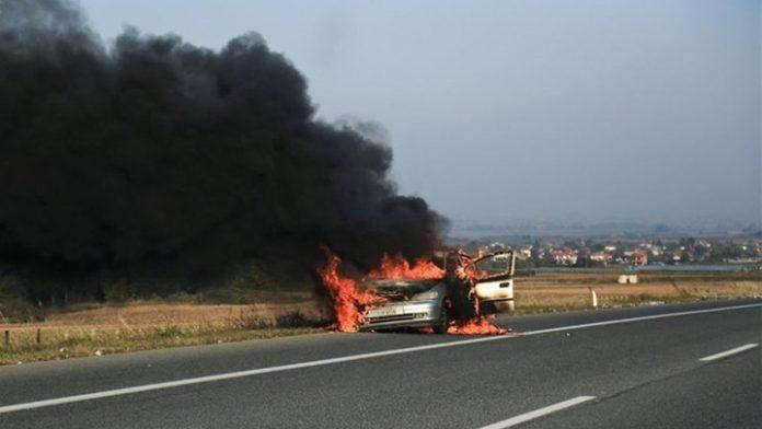 Φρικτό τροχαίο! Κάηκε ζωντανός ο οδηγός μέσα στο φλεγόμενο όχημα